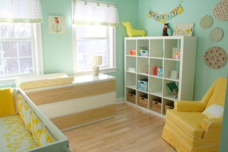 14 Ideas To Decorate A Nursery In A Fresh Color Combo