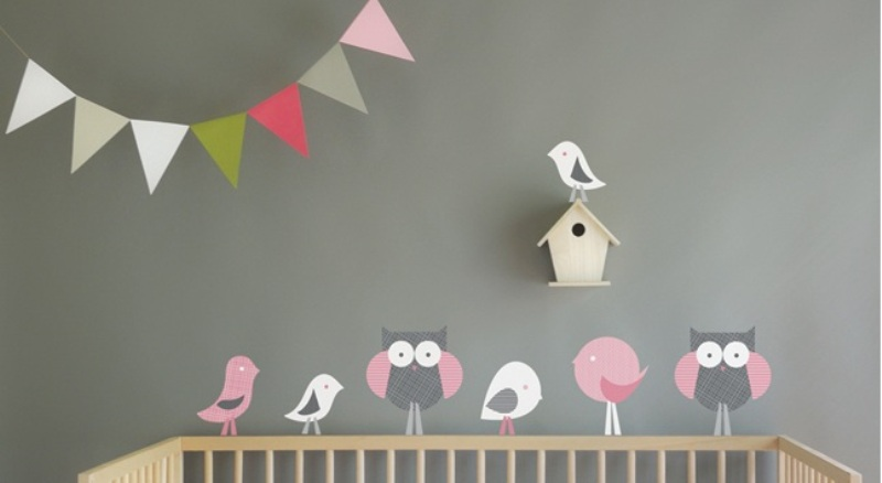 Beautiful These wall decals can be applied to walls as well as to windows and any flat surface and you can easily remove them if it us needed
