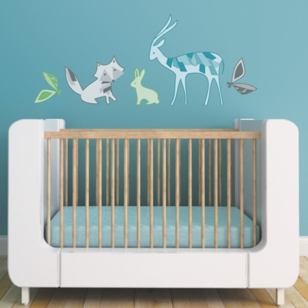 Fresh These wall decals can be applied to walls as well as to windows and any flat surface and you can easily remove them if it us needed