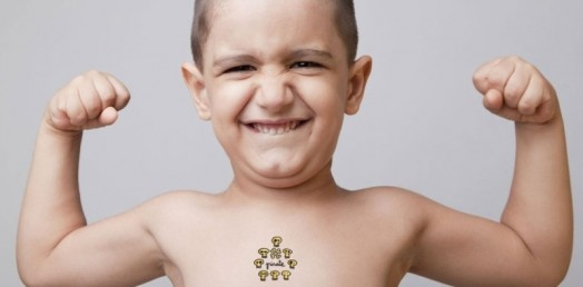 Funny and whimsical kids temporary tattoos by tattuum for Temporary tattoos for kids
