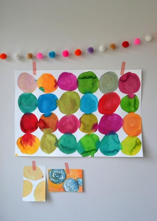 Rainbow Wall Art Nursery