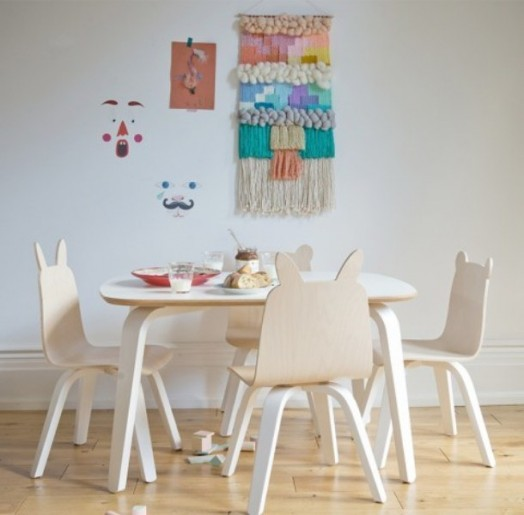 Funny Kids Play Table And Chairs Collection From Oeuf