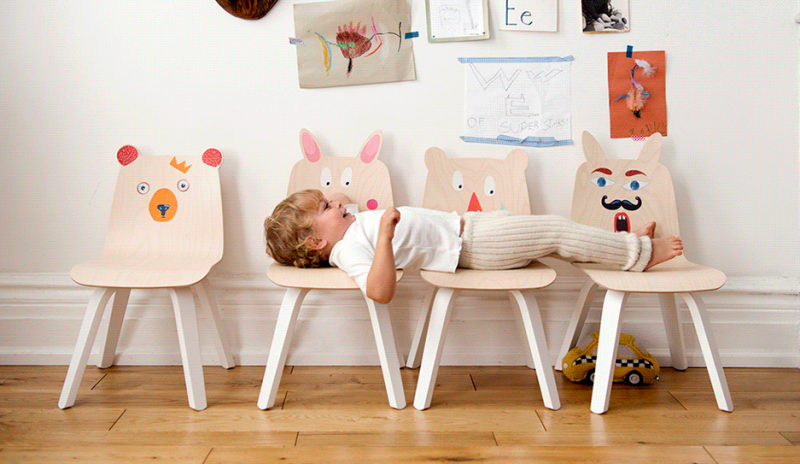 Funny Kidsu0027 Play Table And Chairs Collection From Oeuf