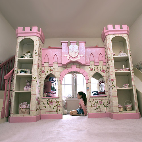 Cool Girly Bedrooms: Girls Room That Looks Like A Fairytale Princess Castle