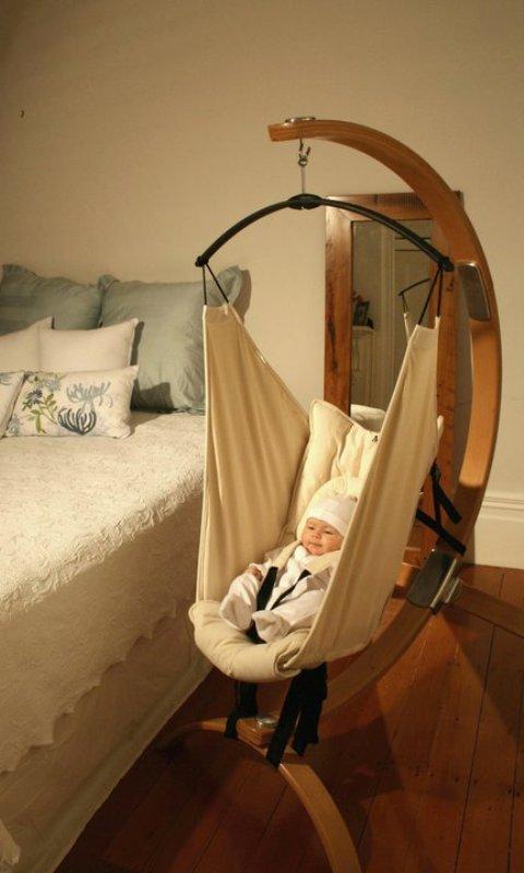 Hushamok Baby Hammock To Help Newborns To Fall Asleep