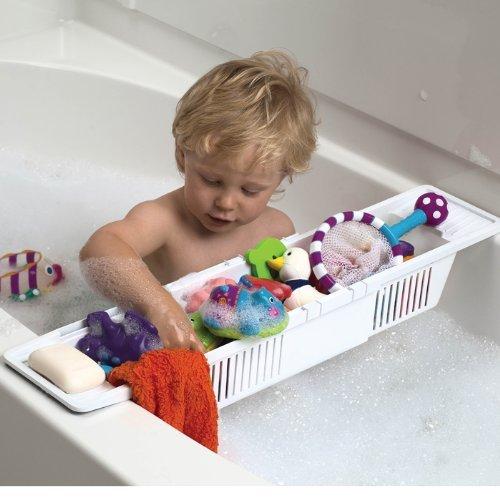 kids bath storage basket and organizer by kidco kidsomania. Black Bedroom Furniture Sets. Home Design Ideas