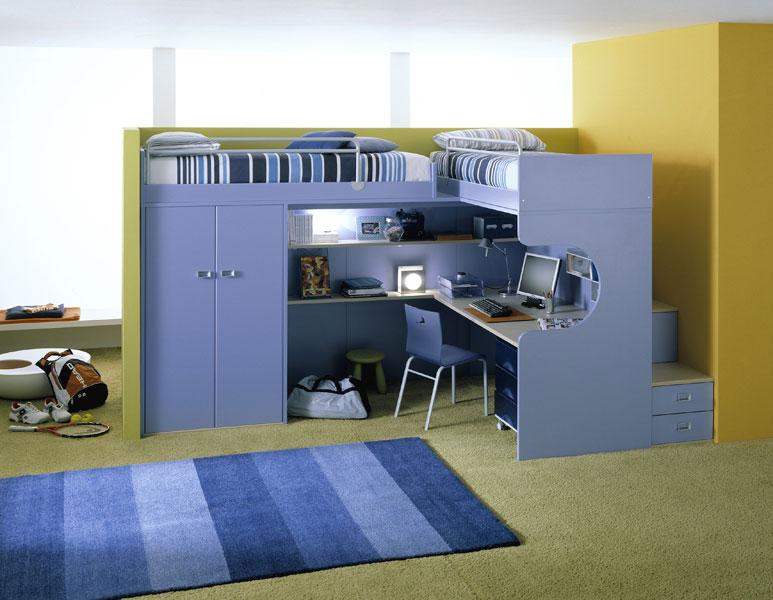 Awesome Kids Bedroom Desk Gallery - Decorating Design Ideas ...