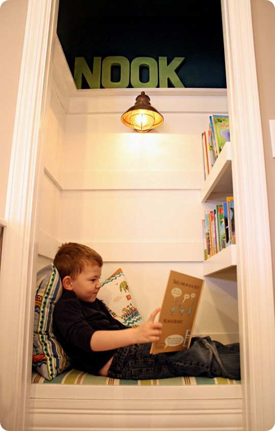 39 Cool Ideas To Organize A Perfect Kids Reading Nook