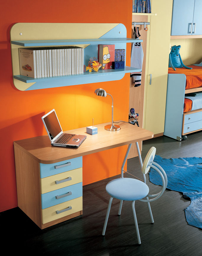 Study Room Storage: 7 Cool Ideas Of Kids Study Space Organization