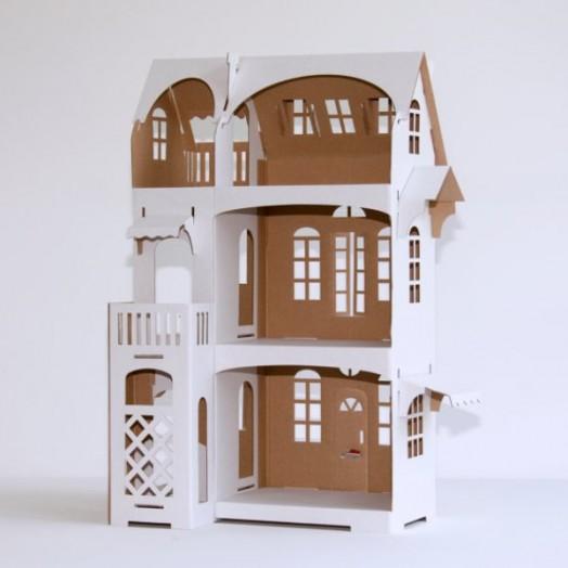 Minimalist Cardboard Dollhouse Lets Your Kid Be A Designer Kidsomania