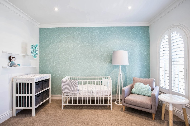 Mint And Grey Baby Room Design By Little Liberty