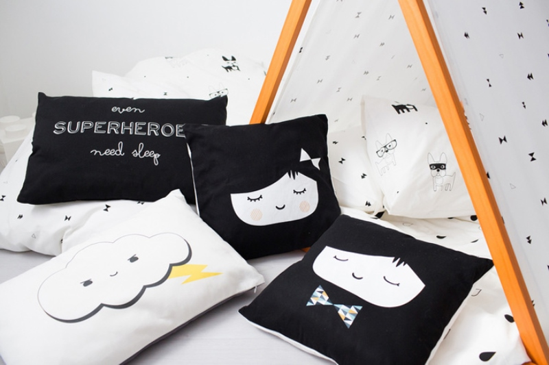 Funny Scandinavian Style Kidsu0027 Bedding From Frankie And Frenchie Part 75