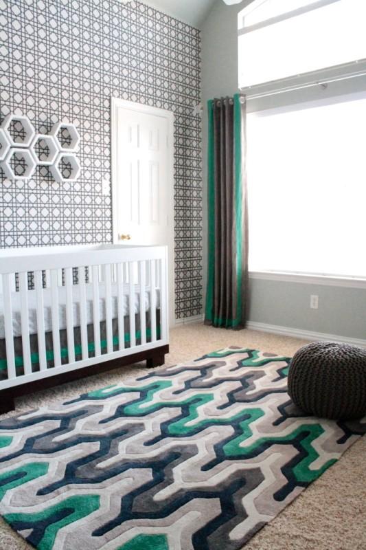 Modern Baby Boy Room: Modern Sports Nursery Design For A Baby Boy