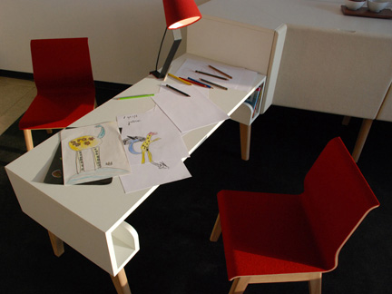 Modular Storage Working And Seating Furniture System For