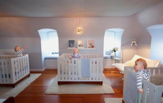 baby nursery ideas, cool baby nursery designs, nice baby nursery  designs, nursery decor, nursery designs, nursery ideas, triplets  bedroom, triplets nursery, triplets room