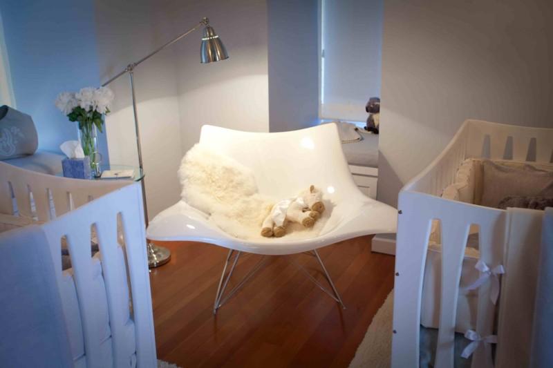Beautiful And Calm Modern Triplets Nursery Design Kidsomania