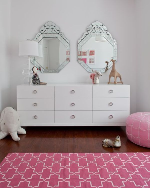 Pink girl s room design in bohemian style kidsomania - Chic and stylish pink bedroom design ideas for all time girly look ...