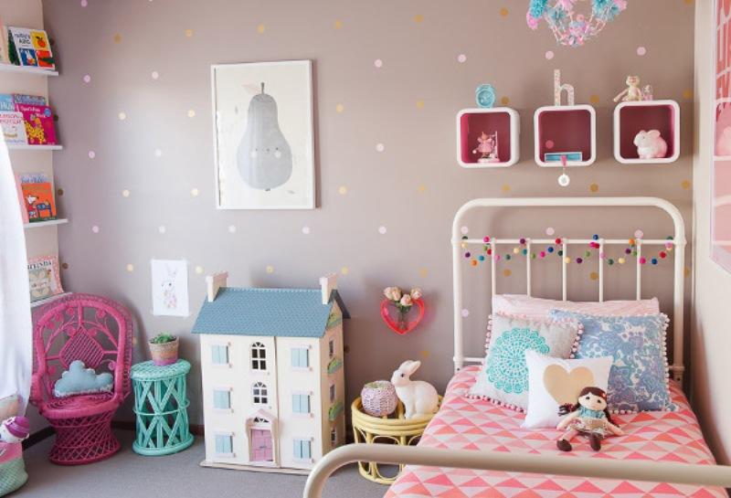 Little Girls Bedroom Ideas Vintage pretty and cheery vintage girl room design inspiration | kidsomania
