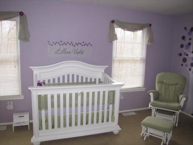 Purple Baby Girl Bedroom Ideas 20 purple kids room design ideas | kidsomania