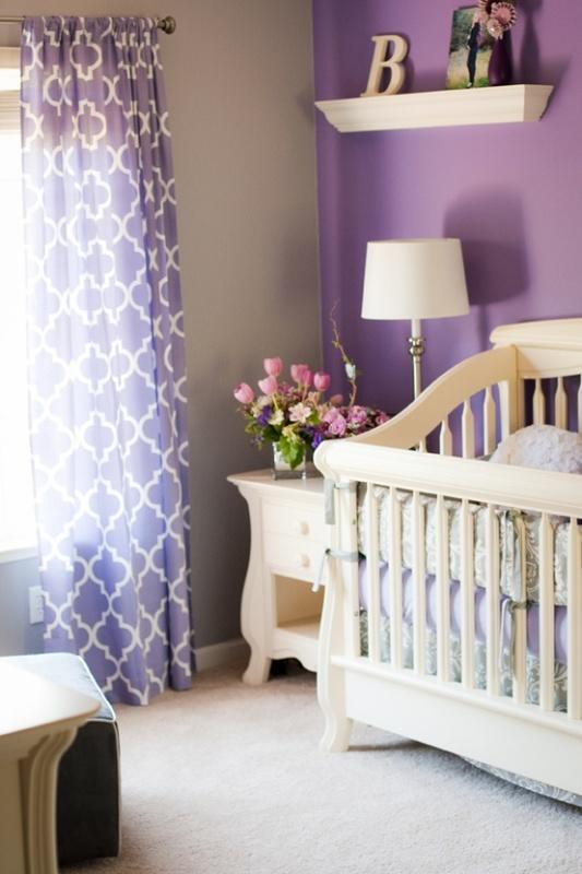Black And Purple Kids Bedroom 20 purple kids room design ideas | kidsomania