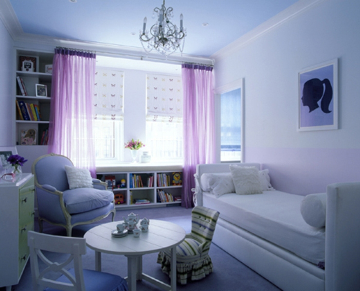 Image Result For Lavender Curtains For Baby Room