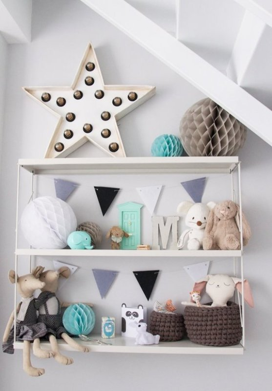 Scandinavian styled nursery with sweet mint accents kidsomania - Room bebe cocktail scandinavian ...