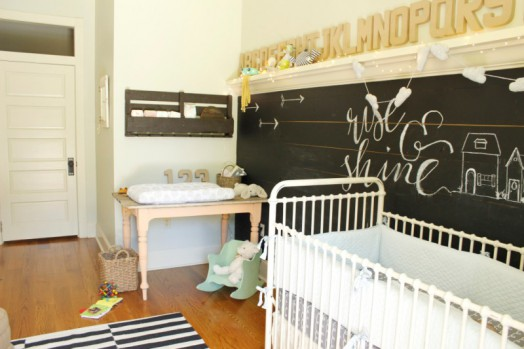 Smart Eclectic And Whimsical Baby S Nursery Design