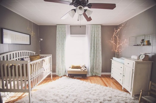 Soft And Earthy Baby Girl S Nursery Design Inspiration