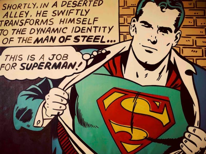 Stunning Superhero Comic Book Nursery Ideas For Your Boy   Kidsomania