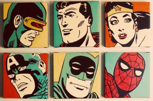 Stunning Superhero Comic Book Nursery Ideas For Your Boy