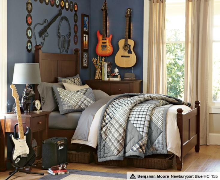 Guitar Themed Bedroom Ideas 2 Interesting Design Ideas