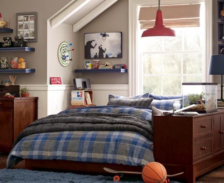 46 Stylish Ideas For Boy's Bedroom Design | Kidsomania on Guys Bedroom Ideas  id=71204