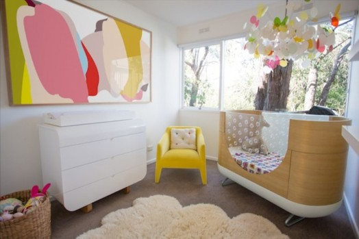 7 Inspiring Kid Room Color Options For Your Little Ones: Stylish Light And Bright Baby's Nursery Design Inspiration