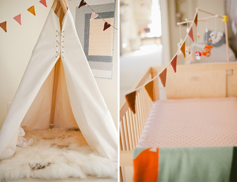 Sweet And Airy Woodland And Boho Chic Inspired Nursery Kidsomania