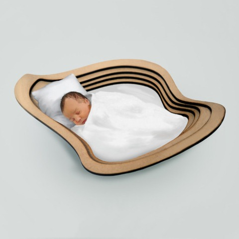 Unusual Crib For A Modern Nursery Inspired By Clouds