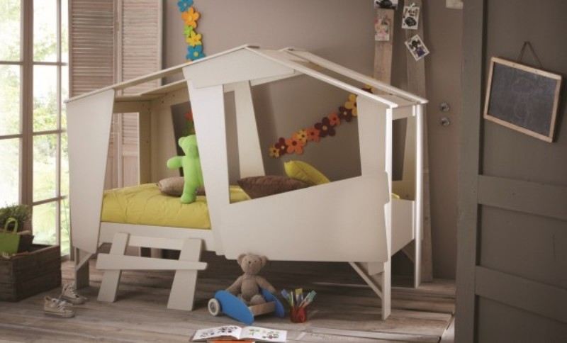 Very Original And Fancy Kid S Bed For Sleep And Play