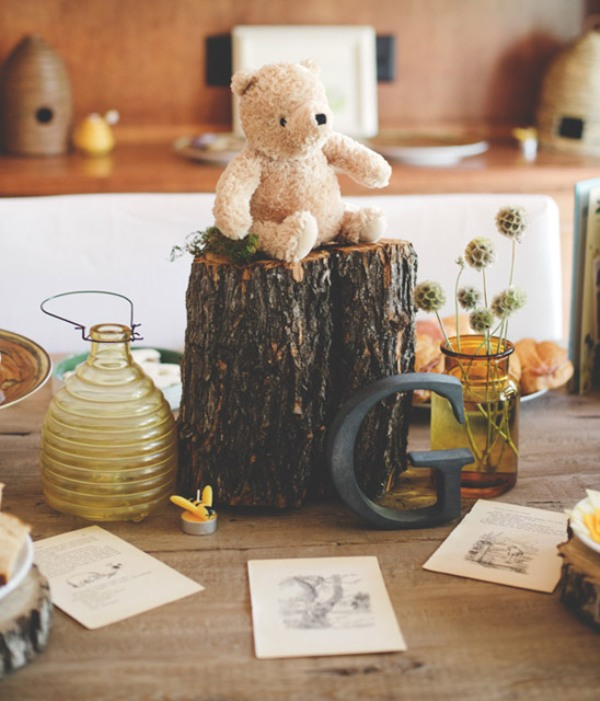 Vintage And Lovely Winnie The Pooh Themed Baby S