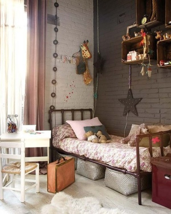 Best 25 Industrial Boys Rooms Ideas On Pinterest: 11 Warm Industrial Kid's Room Design Ideas