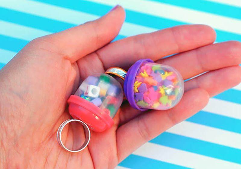 whimsy and easy diy vending machine bubble ring kidsomania