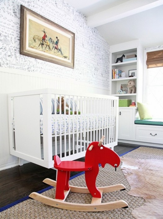 Vintage Baby Boy Nursery Ideas: Whimsy Modern And Vintage Boy's Nursery Design Inspiration