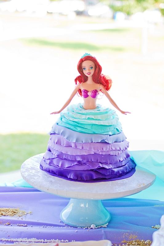 Wonderful Little Mermaid Under The Sea Kid S Birthday