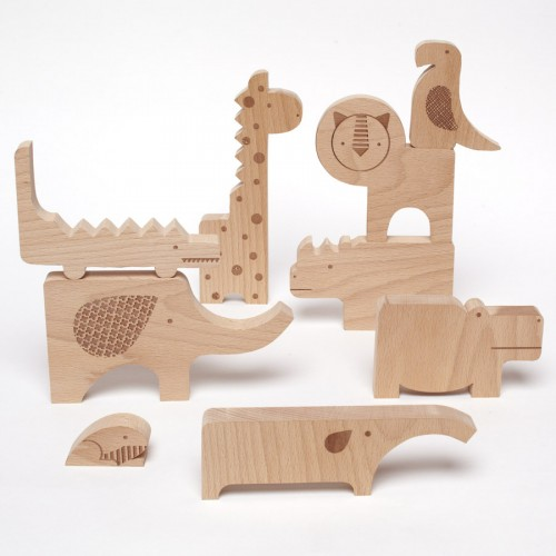 3 Clever Wooden Animal Puzzles For A Developping Play