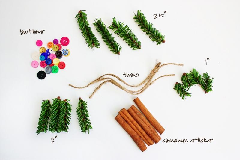 Yummy Smelling And Pretty DIY Cinnamon Stick Tree Ornaments   Kidsomania